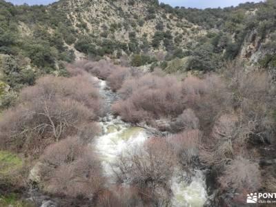 Puente de la Marmota - Parque Regional de la Cuenca Alta del Manzanares pueblos alto tajo parque nat
